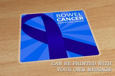 Bowel Cancer Awareness Floor Sticker Graphics Indoor