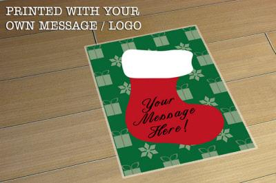 A2 Christmas Indoor Floor Stickers Graphics
