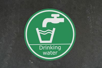 No Food Or Drink Floor Sign Outdoor Floor Stickers Graphics