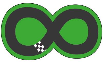 Children S Racetrack Floor Stickers Graphics Racetrackfs2