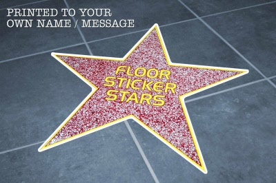 Hollywood Quot Walk Of Fame Quot Star Floor Graphics