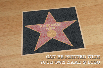 Hollywood Star Walk Of Fame Floor Stickers Graphics